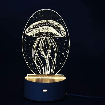 Zorara 3d Visuelle Lampe Led Schlafzimmer Lampen Night Light 3d Illusion Lampe Nachtlicht Optische Tauschung Lampe Schreibtischlampe Tischlampe Mit Acryl Ebene Abs Basis Fur Kinder Geschenk Amazon De Beleuchtung