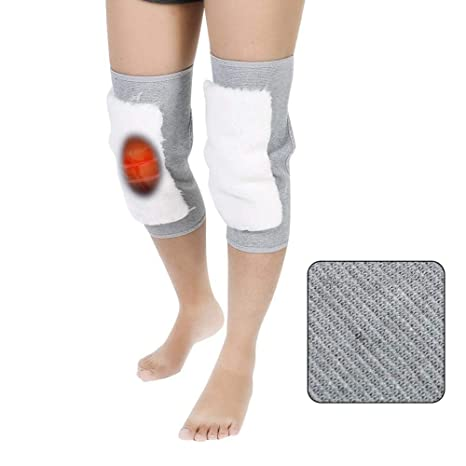 Braces & Supports 1 Pair Women Winter Wool Knee Pads Warm Breathable Knee Support For Gym Training Running