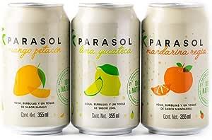 Parasol | 12 Pack de Agua Carbonatada con Surtido de Sabores
