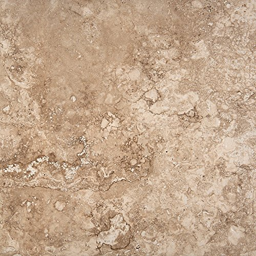 """Emser Tile F02HOMEBE1818 """"Homestead"""" Porcelain Tile, 18"""" x 18"""", Beige"""