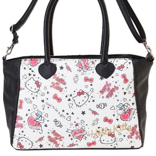 Ciao Kitty tote bag stampa colorata (Giappone import / Il pacchetto e il manuale sono scritte in giapponese)