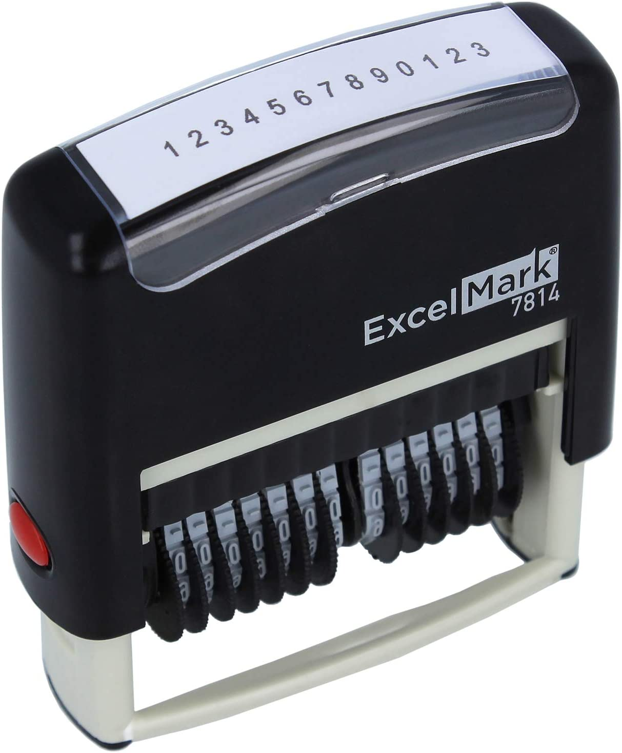 ExcelMark 13 Band Self-Inking Number Stamp - 2