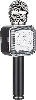 Shendong Wireless Handheld Karaoke Microphone w/Built-in Speaker