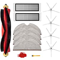 13Pcs Kit for Xiaomi Roborock S6 S60 S65 S5 MAX S6 MAXV S6 Pure Vacuum Cleaner Accessories, 1 Roller Brushes, 2 Filters…
