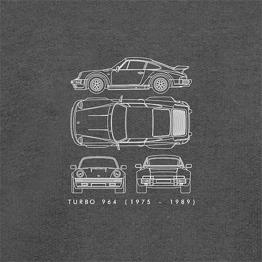 Amazon.com: Dressdown Blue Print 911 T 964 - Unisex Hoodie/Hooded Top - 12 Colours: Clothing