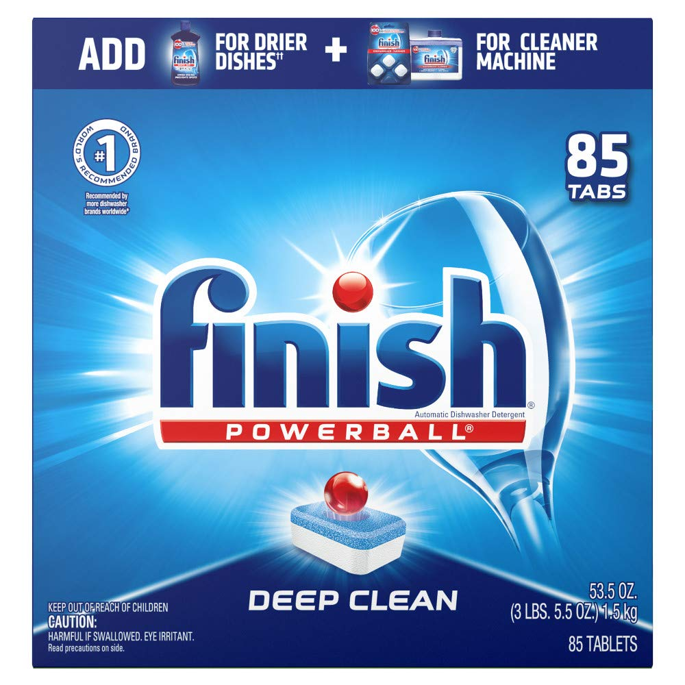 Finish Line Free Shipping Trick >> Finish All In 1 85ct Dishwasher Detergent Powerball Dishwashing Tablets Dish Tabs Fresh Scent