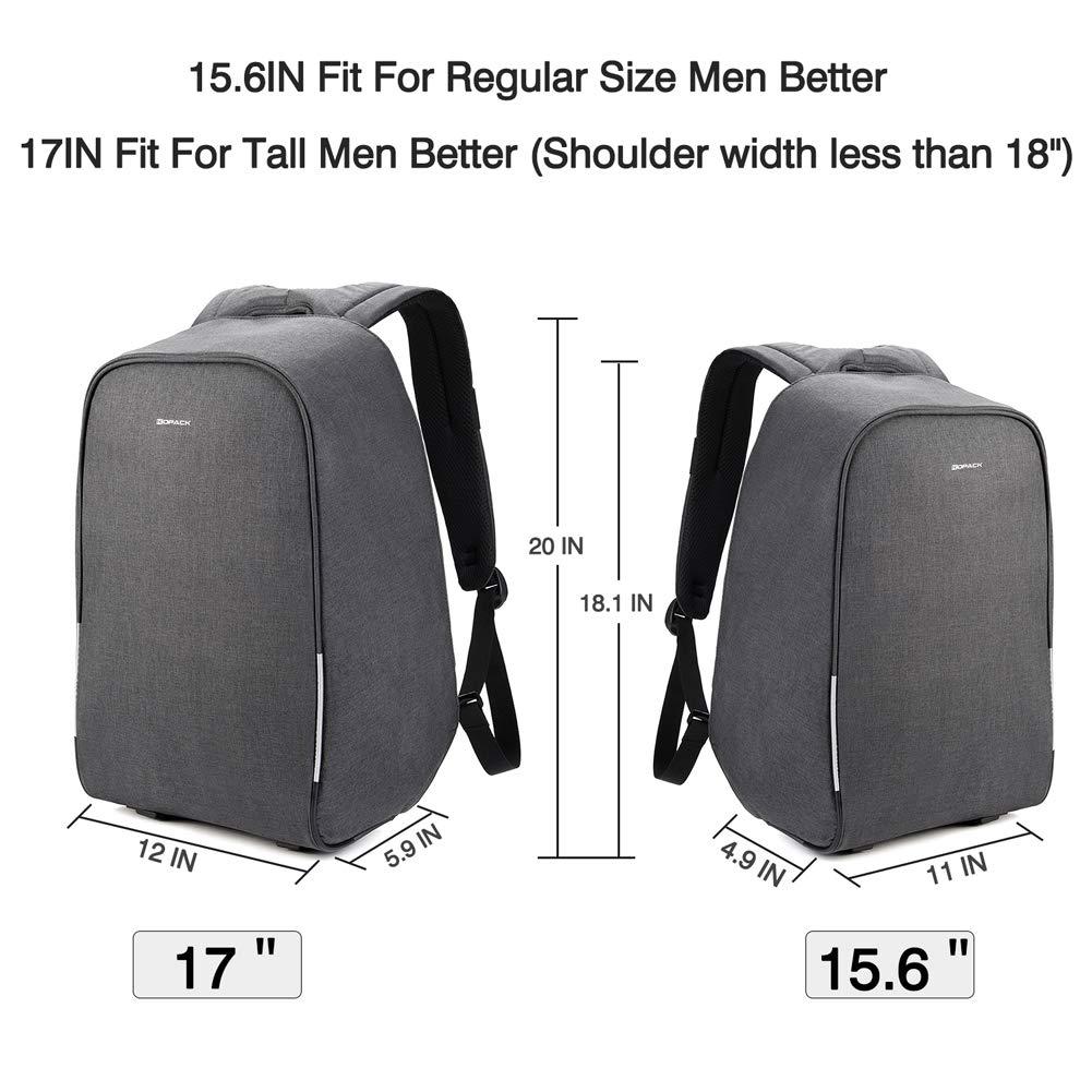 bac8cee27a57d Kopack 17 Zoll Anti Diebstahl Laptop Rucksack  Amazon.de  Computer   Zubehör