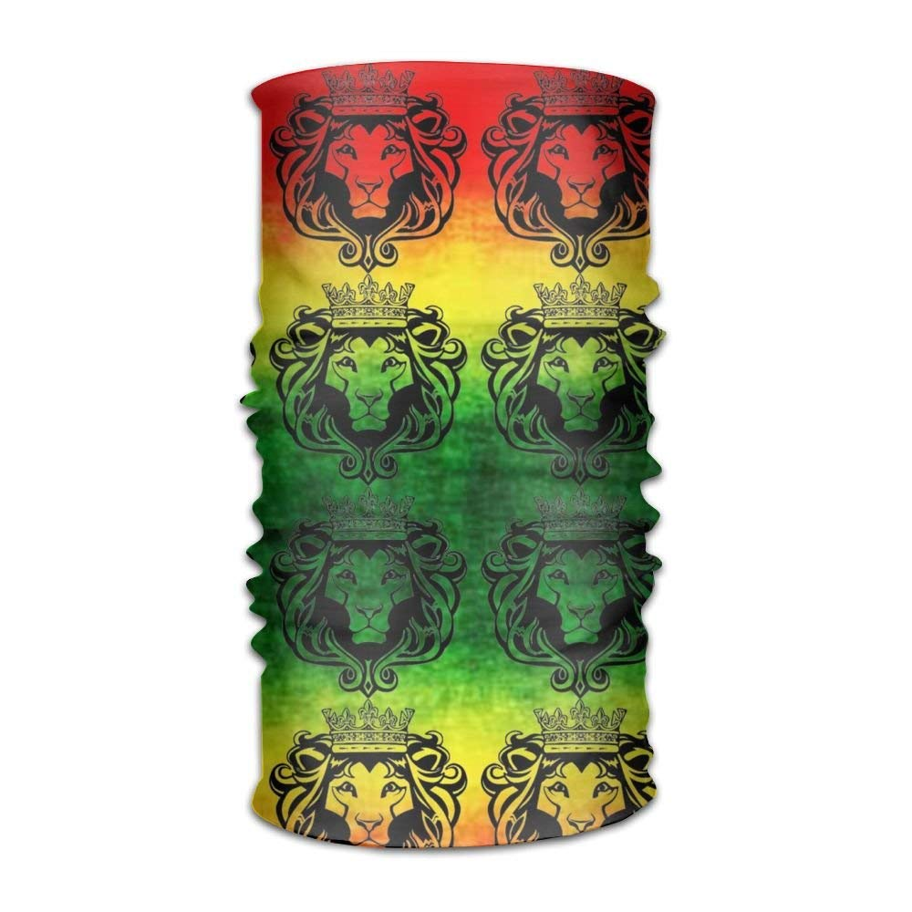 Adults And Youth Elastic /& Dry Fast Sweatband Bandana Rasta Lion Raggae Jamacia Solid Moisture Wicking Headband