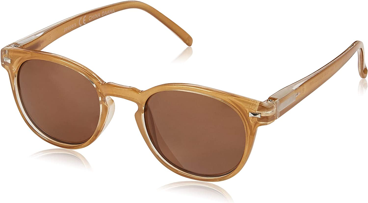 Peepers by PeeperSpecs Boho Round Reading Sunglasses