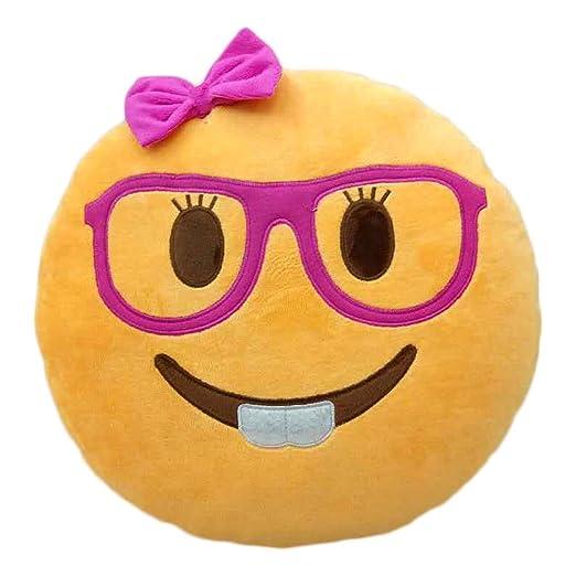 Cojín de emoticono carita sonriente, muñeca, caca, cara para ...