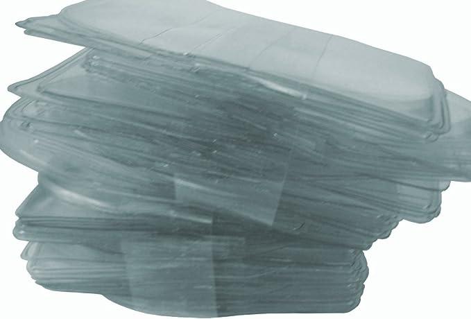 100 fundas individuales de plástico transparente para monedas y joyas (tamaño mediano): Amazon.es: Juguetes y juegos
