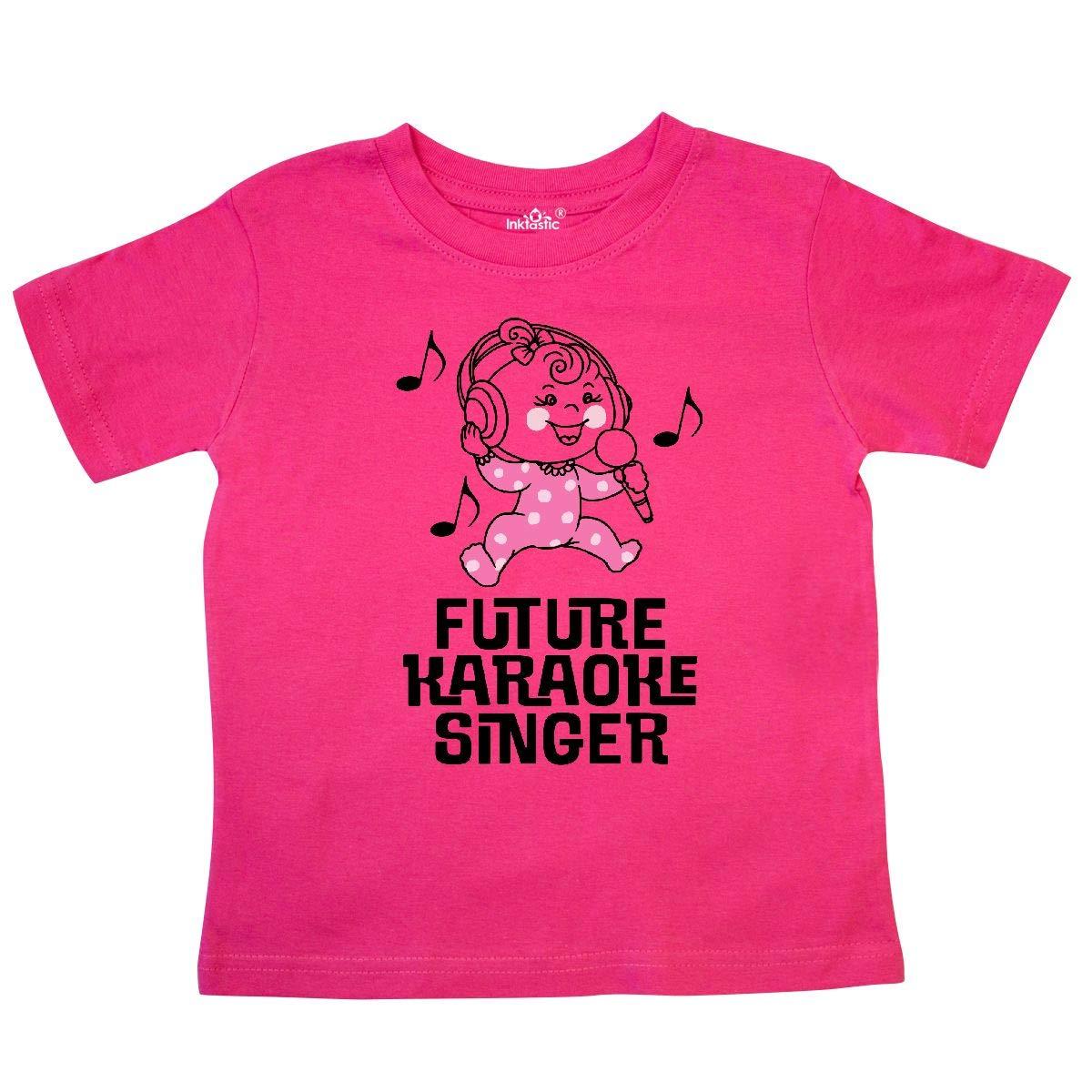 inktastic Future Karaoke Singer Girls Toddler T-Shirt