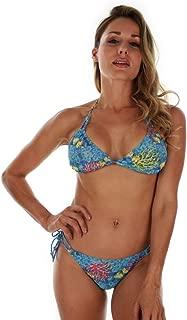 product image for Bottoms ONLY Tan Through Aqua Fiji String Bikini Bottom