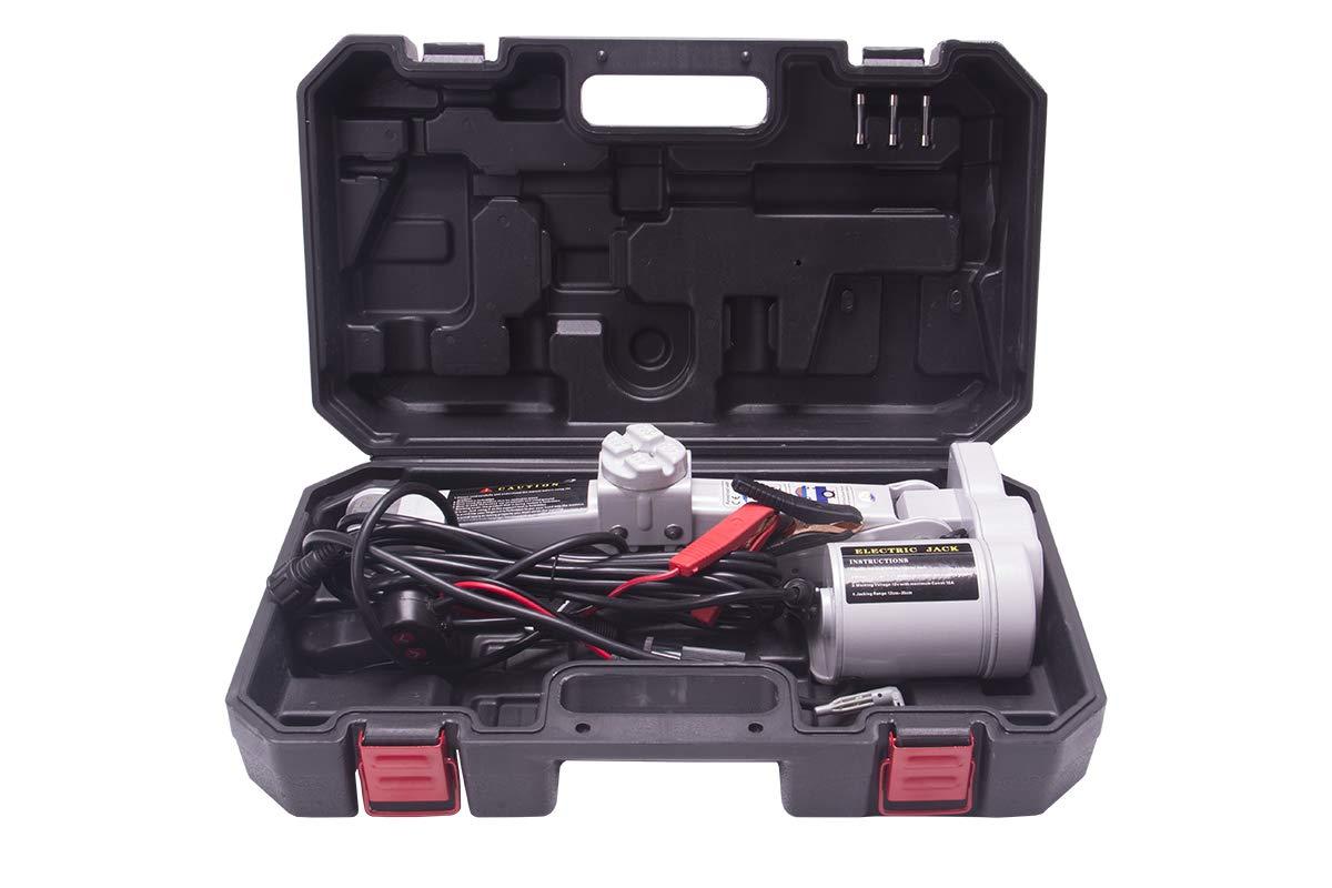 Comie 1-1/2 Ton 3300lb Capacity Car Jack 12v Electric Automotive Car Floor Jack