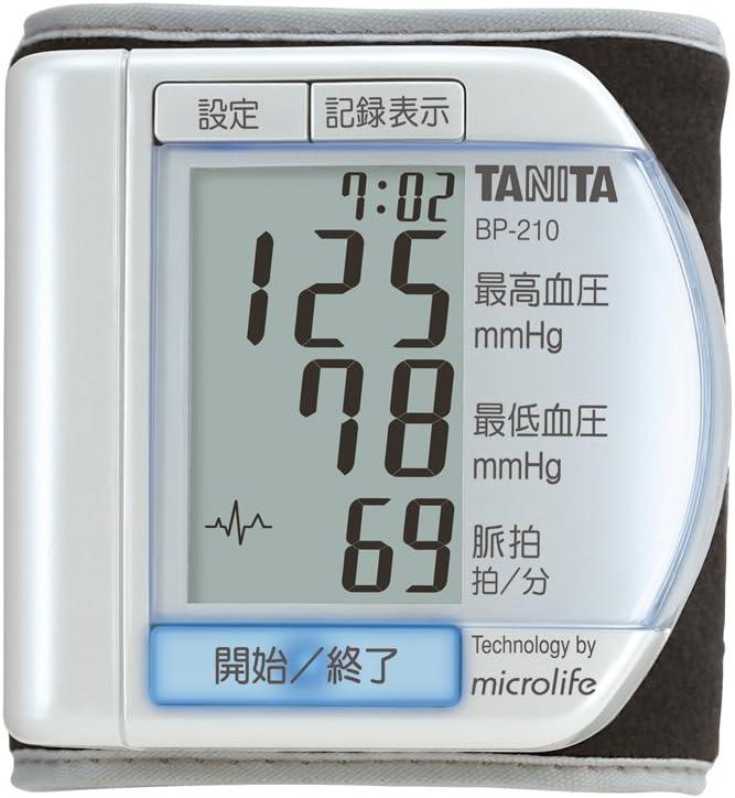 タニタ 手首式血圧計BP-210-PR