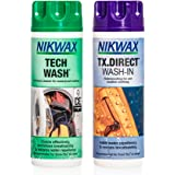 Nikwax Hardshell Cleaning and Waterproofing Duo-Pack