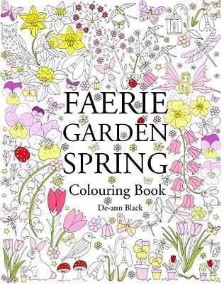book cover of Faerie Garden Spring