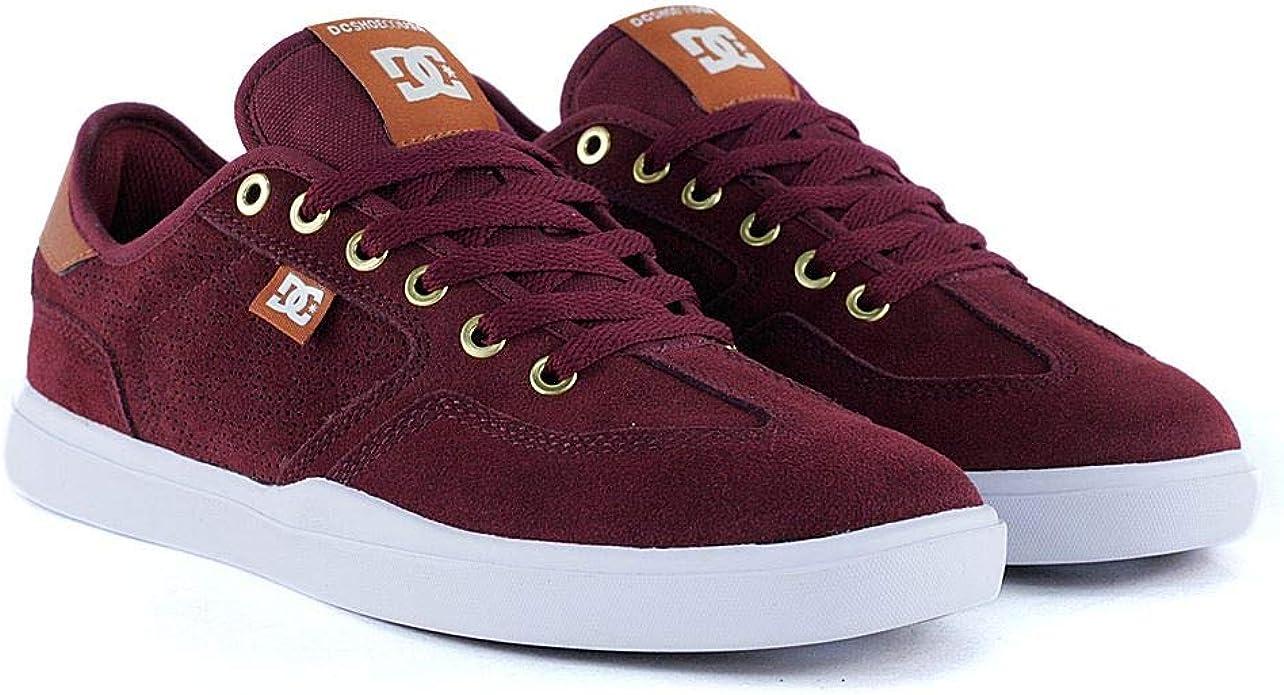 DC Shoes Vestrey S AR Sneakers Männer Weinrot/Braun/Weiß