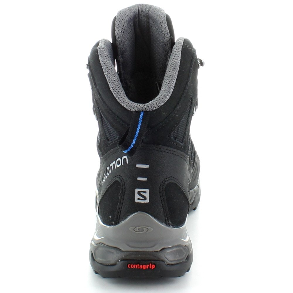 Amazon.com: Salomon mens Mens Conquest GTX GoreTex Waterproof Walking Boots Black Black UK Size 9 (EU 43, US 9.5): Shoes