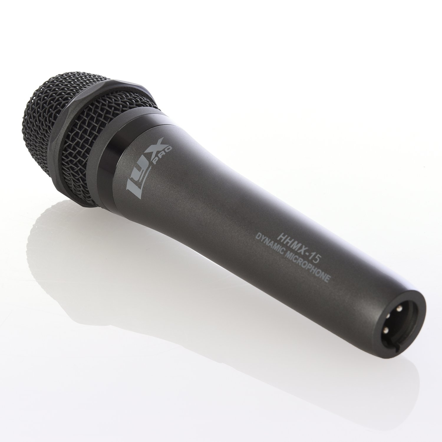 LyxPro HHMX-15 Professional Handheld Vocal Dynamic Cardioid Microphone, Accurate Sound Reproduction for Live Vocals, Recording and Instruments