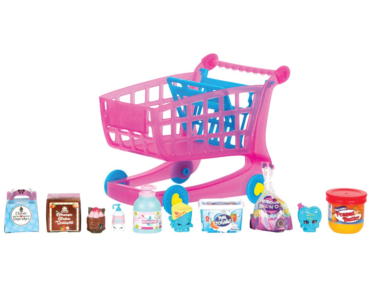 Shopkins Mini Packs Small Mart Shoppin Cart