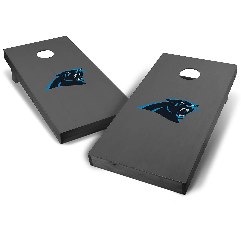 Wild Sports NFL 2 x 4 Grey Authentic Cornhole Game Set Big Logo Design