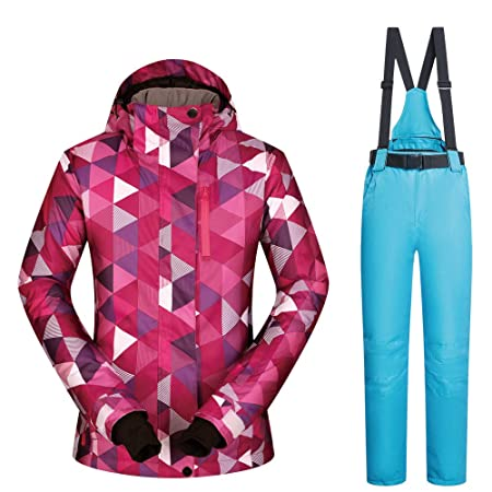 Peng sounded Traje de Esquí para Mujer Traje de esquí, Traje de ...