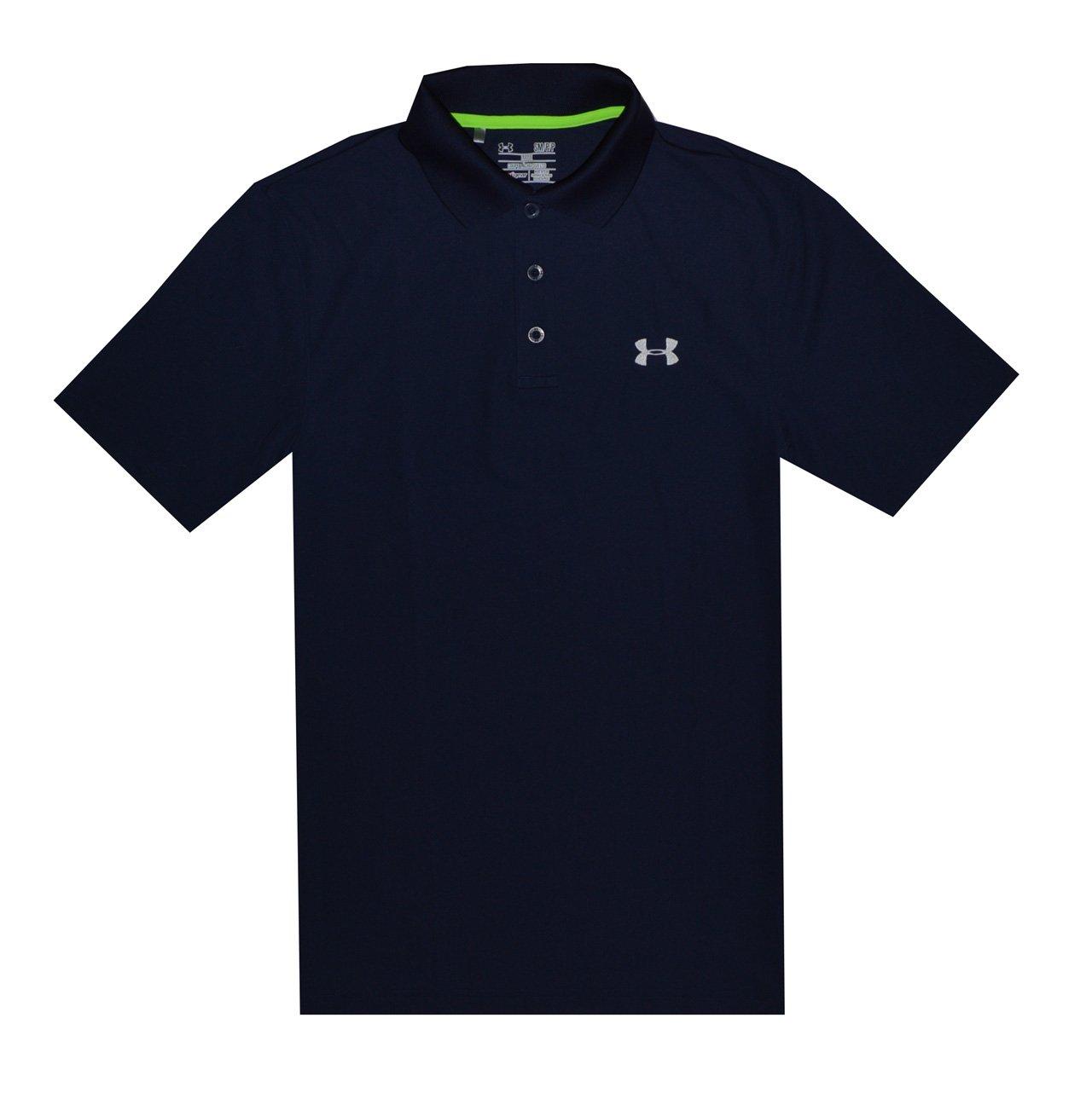 2f2f6ac6 Amazon.com: Under Armour Men UA Golf Performance Logo Polo T-Shirt: Clothing