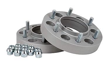 Spurverbreiterung Aluminium 2 St/ück incl T/ÜV-Teilegutachten 30 mm pro Scheibe // 60 mm pro Achse