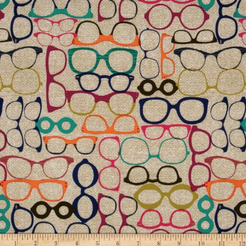 Fabric Jewel (Michael Miller 20/20 Glasses Jewel Fabric By The)
