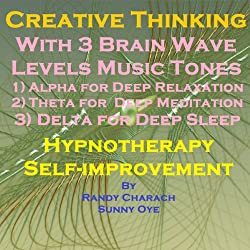 Creative Thinking with Three Brainwave Music Recordings