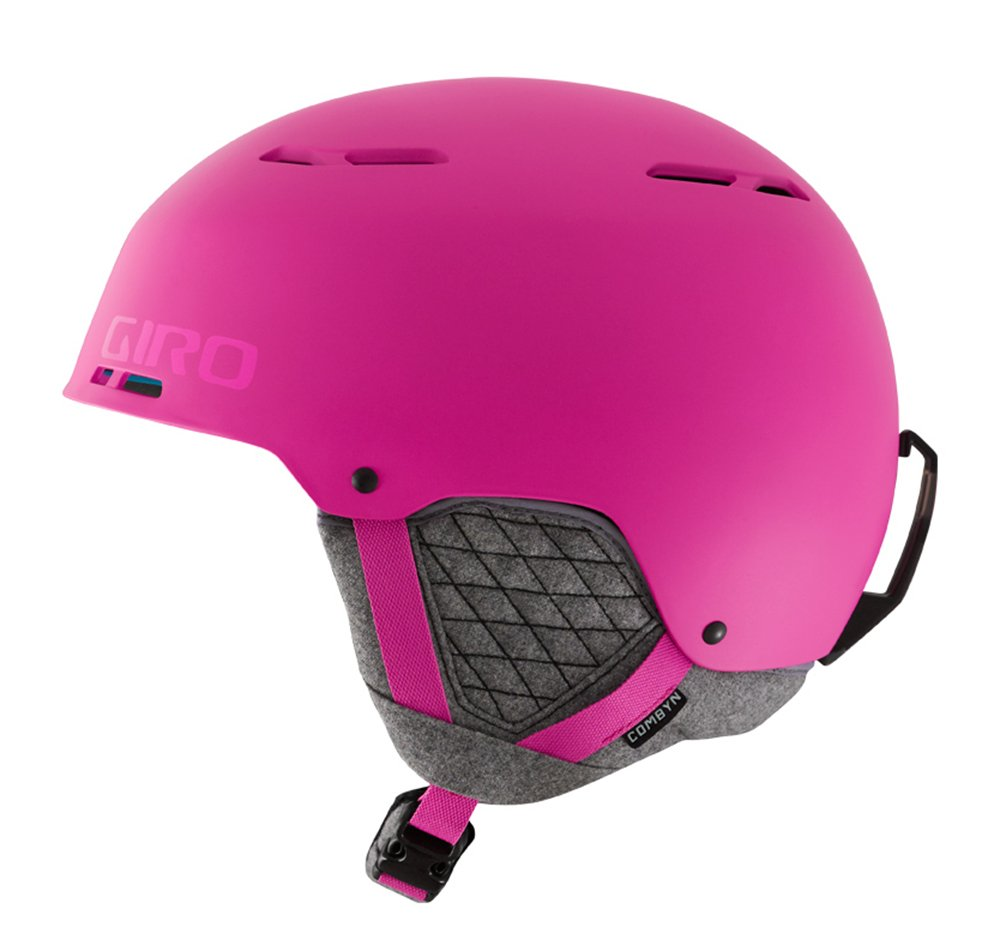 Giro Combyn Snow Helmet Mens Matte Magenta Small