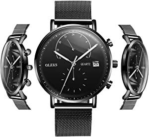 OLVES Men's Fashion Waterproof Quartz Watch with Date… Giveaway