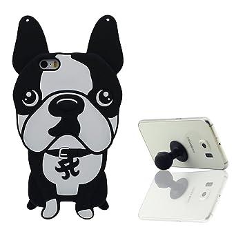 coque iphone 5 silicone avec bouldogue