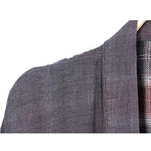 4f729efb53 best FANCY PUMPKIN Men s Japanese Style Robes Pure Cotton Kimono Robe  Bathrobe Pajamas  09