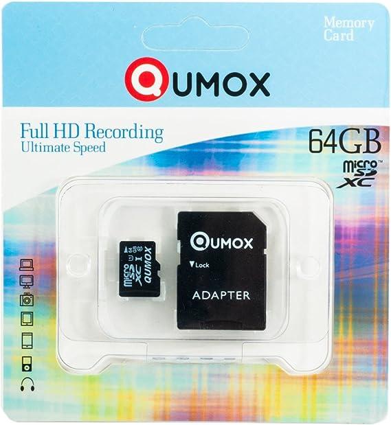 Qumox 64gb Micro Sd Sdxc Memory Card Class 10 Uhs I Computer Zubehör