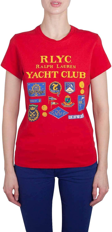 Polo Ralph Lauren - Polo - para Mujer Rojo S: Amazon.es: Ropa y ...