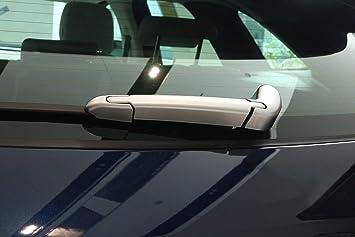 Pegatinas para limpiaparabrisas trasero, de carbono, ABS, cromado, para F-Pace X761 2016: Amazon.es: Coche y moto