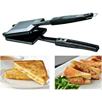 Inspire Non-Electric, Non Stick Coating Snack and Sandwich Gas Toaster/Sandwich Maker (Color May Vary)