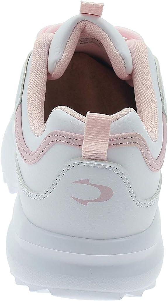 John Smith Zapatillas Casual Mujer VAI Blanca-Rosa: Amazon.es: Zapatos y complementos