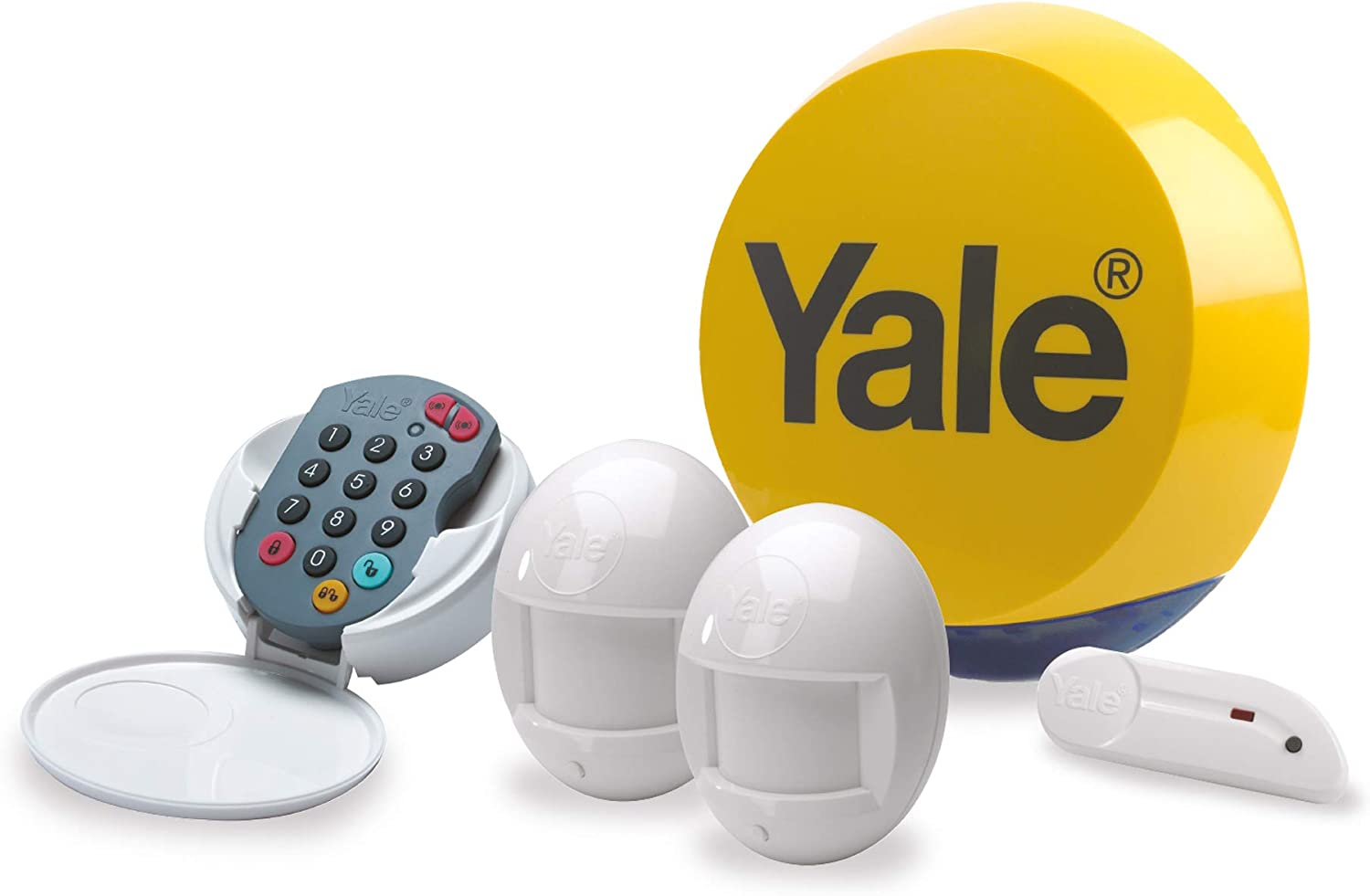 Yale YES-ALARMKIT Essentials Alarm Kit Popular products Max 75% OFF up Battery 2 Powered to