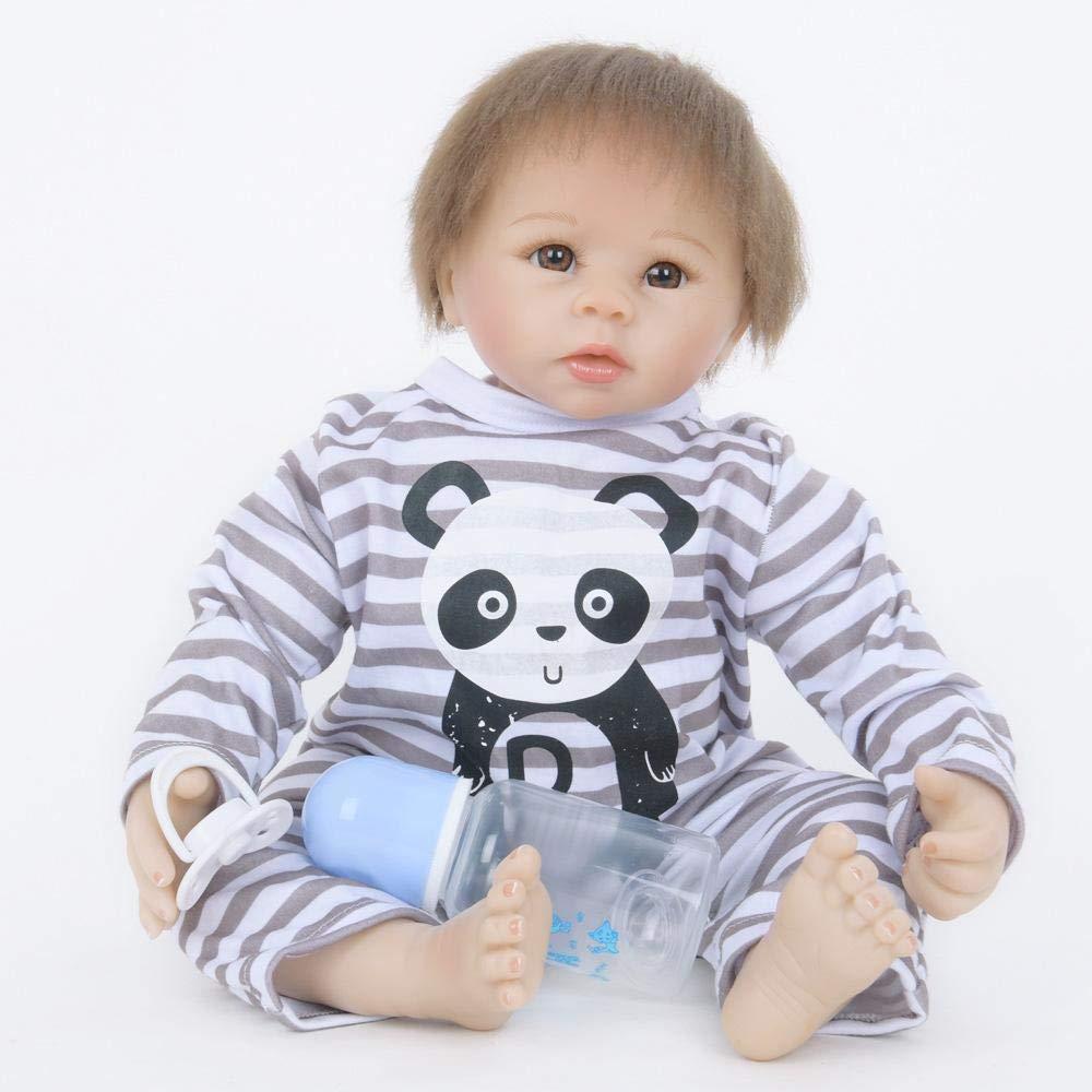 tienda hace compras y ventas Hongge Reborn Baby Doll,Muñeca Doll,Muñeca Doll,Muñeca Realista Juego Socio Reborn muñeca 55cm  precios ultra bajos