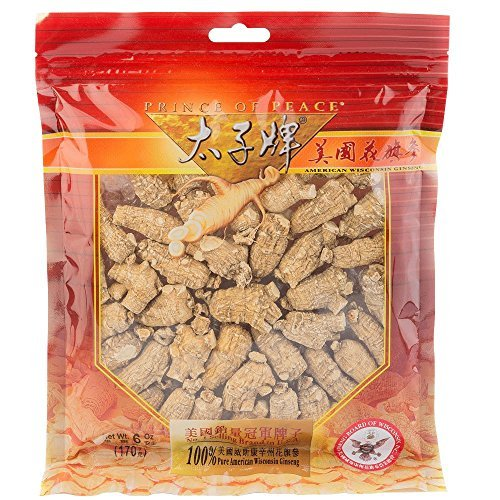 Prince of Peace® Wisconsin American Ginseng Large Round Root (6oz)