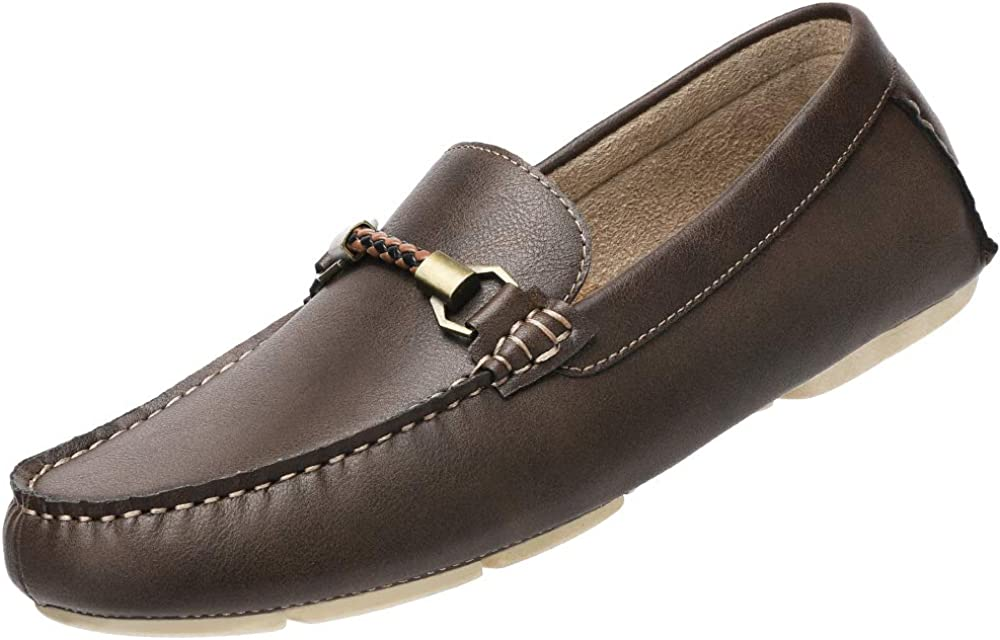 CAMEL CROWN Mens Slip On Loafers Penny Loafer Casual Walking Shoes Comfortable for Driving Office Dress Outdoor