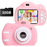 Kids Camera Toys for 3-9 Year Old Girls Gift Compact Cameras for Children Best Birthday Festival Gift for 4-8 Year Old…