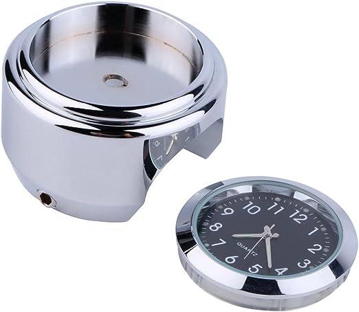Motorrad Runde Zifferblatt Uhr Mode Wasserdicht Motorrad Lenker Mount Clock Zubehör Longyitrade Auto