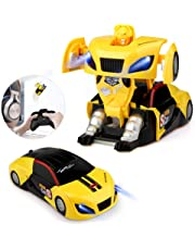Epoch Air Remote Control Car, Kids Toys Transformers Robot RC Car Dual Modes 360° Rotation Stunt Cars with Wall Climbing Function Electric Vehicle for Boys Girls Children