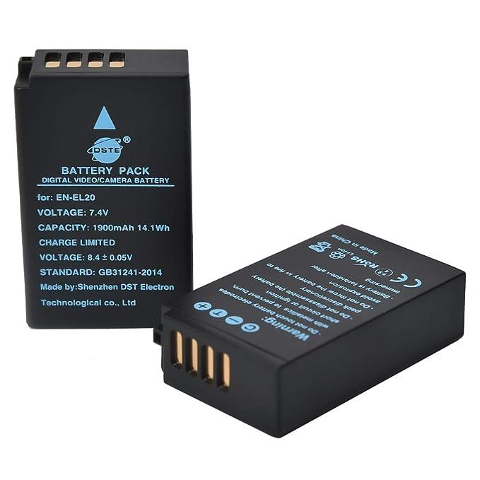 Bateria para Nikon 1 AW1 1 S1 1 J3 1 V3 1 J1 CoolPix P1000 Coolpix A 800mAh