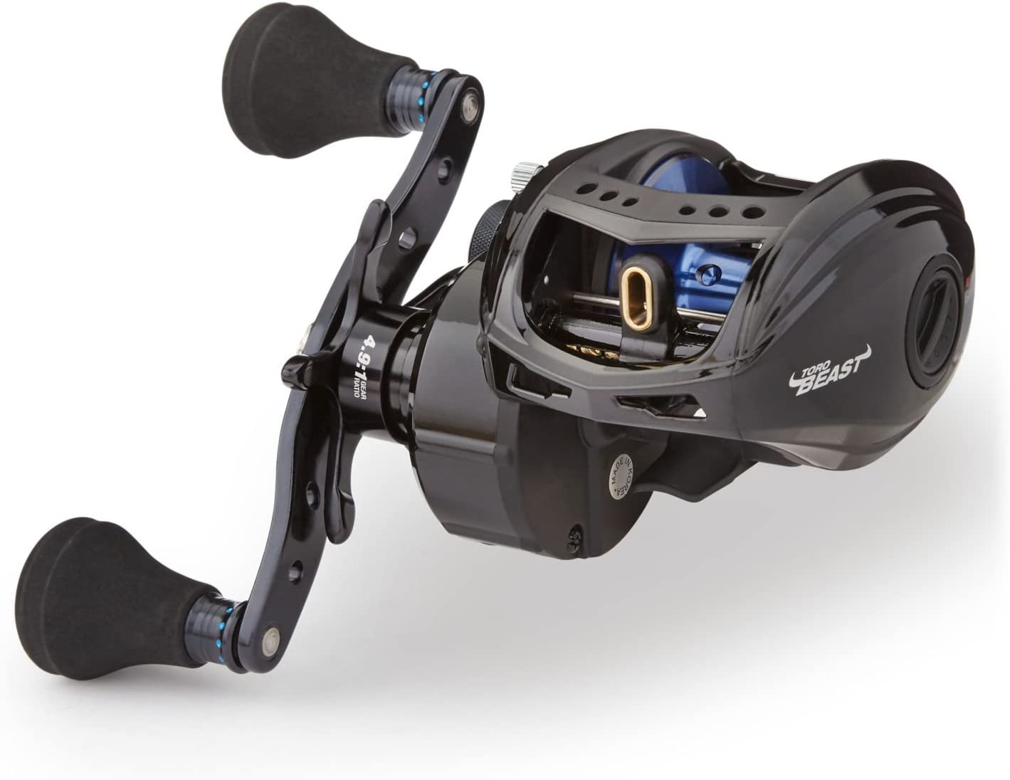 best musky reel: Abu Garcia Revo Toro Beast T2 Low-Profile Baitcast Fishing Reel