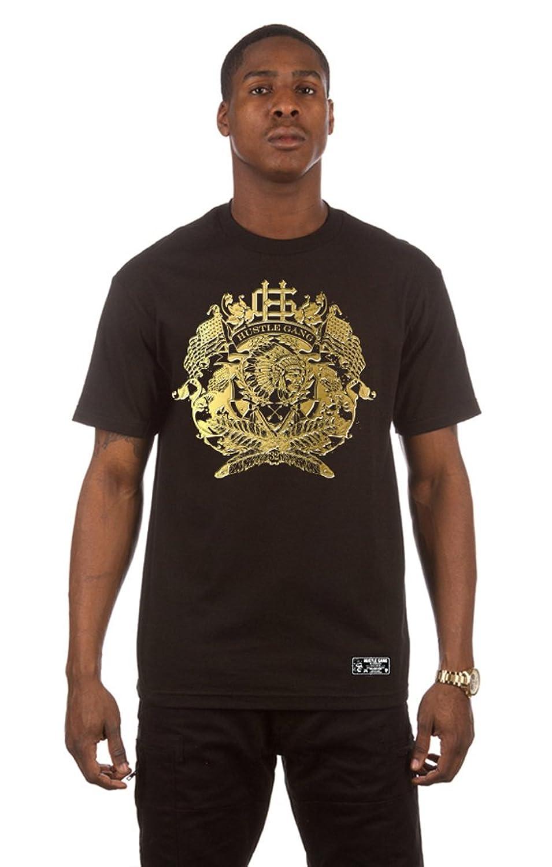 Hustle Gang Gold Stamp T-Shirt